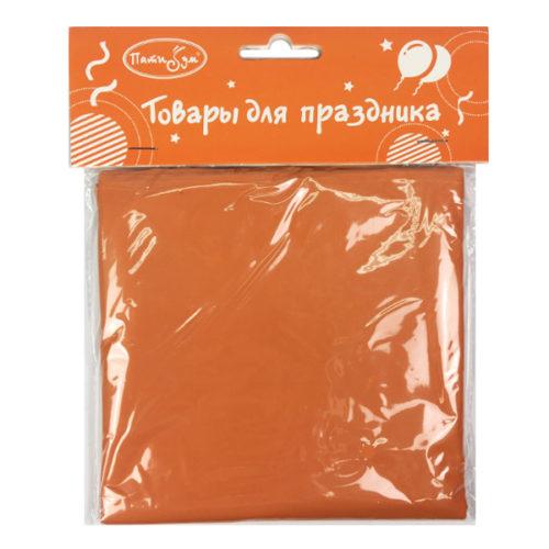 Скатерть полиэтиленовая Orange Оранжевый 121 см X 183 см