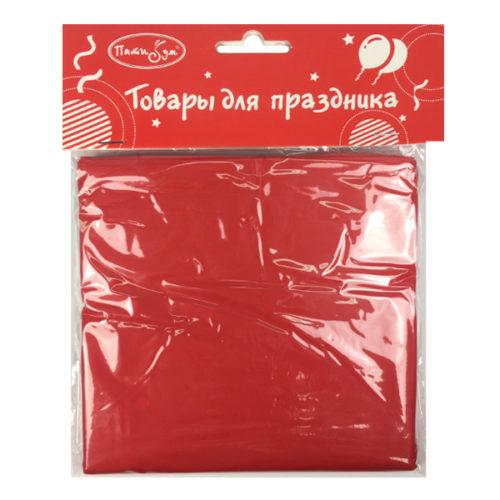 Скатерть полиэтиленовая Red Красный 121 см X 183 см
