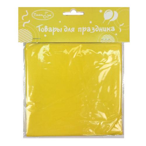 Скатерть полиэтиленовая Yellow Желтый 121 см X 183 см
