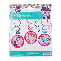 Спираль Понм My Little Pony 46-60 см 6 штук