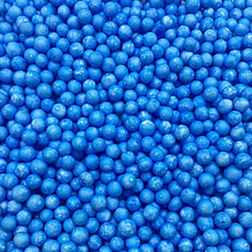 Шарики пенопласт Голубой крупные