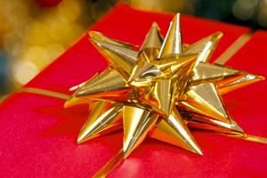 Банты для Упаковки Подарков НГ