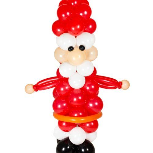 Дедушка Мороз из воздушных шаров