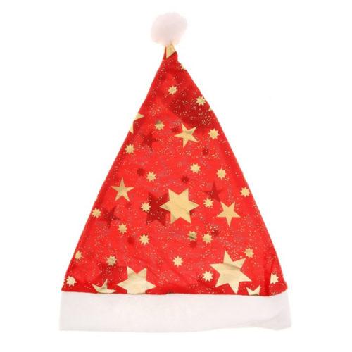 Колпак новогодний Звезды 27 х 40 см