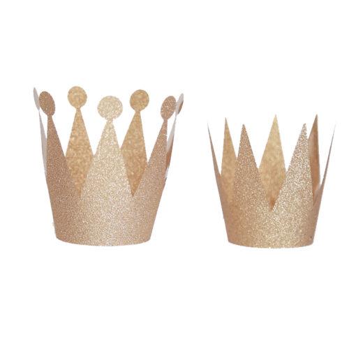 Набор Корона 6 шт розовое золото
