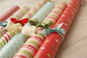Упаковка для подарков Новый год