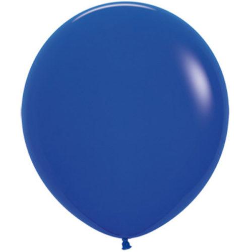Шар 46 см Синий Пастель