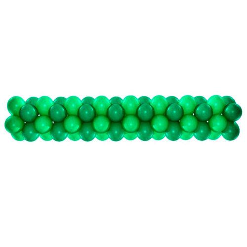 Гирлянда из шаров Зеленый 1 метр