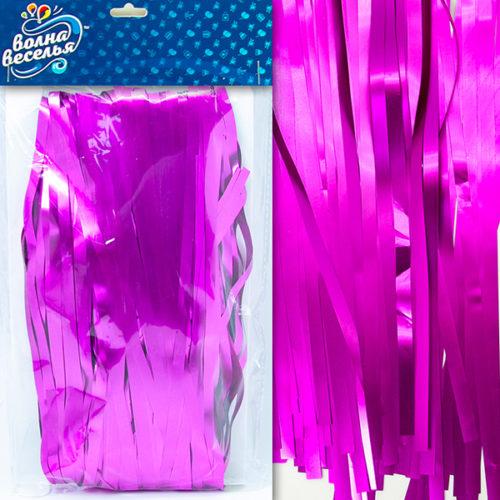 Занавес Дождик Фиолетовый Матовый 100 х 200 см