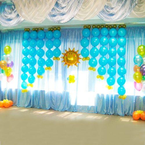 Комплект для оформления Детского сада Небо и Солнышко