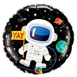 Шар 46 см Круг Космонавт