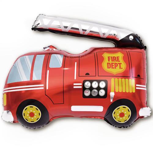 Шар 86 см Фигура Пожарная машина