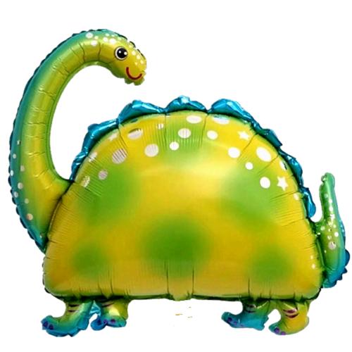 Шар 91 см Фигура Динозавр бронтозавр