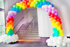 Арки и Гирлянды из шаров для оформления Выпускного в детском саду