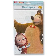 Скатерть п-э Маша и Медведь Ромашки 130 х 180 см