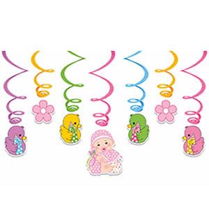 Спираль Малыш Девочка 7 штук