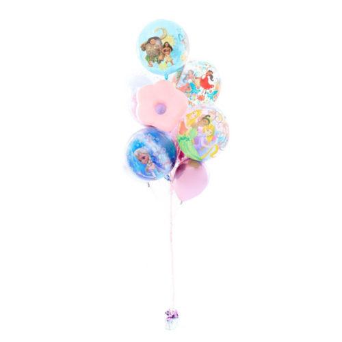 Фонтан из шаров Микс для Девочки Мини