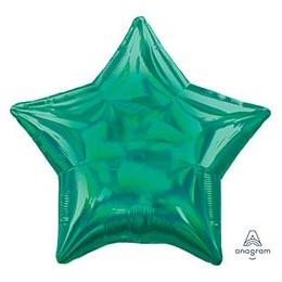 Шар 46 см Звезда Переливы Green Зеленый