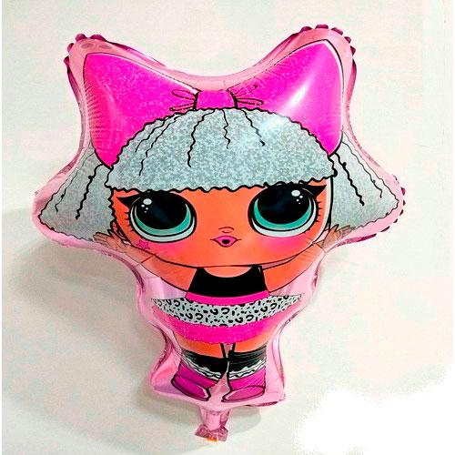 Шар 67 см Фигура Куклы Лол LOL Diva