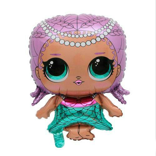 Шар 69 см Фигура Куклы Лол LOL Merbaby