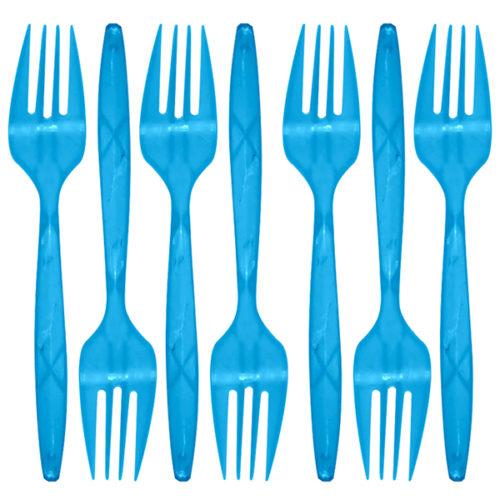 Вилки Голубой 24 штуки