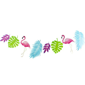 Гирлянда Фламинго 300 см