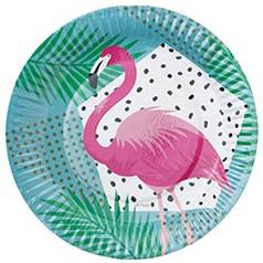 Тарелка 17 см Фламинго 6 штук