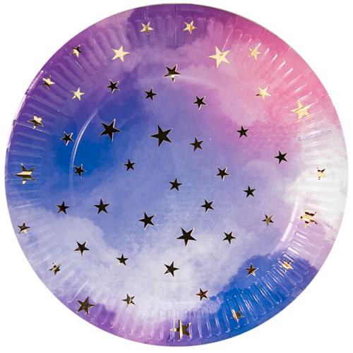 Тарелка 23 см Звездное небо
