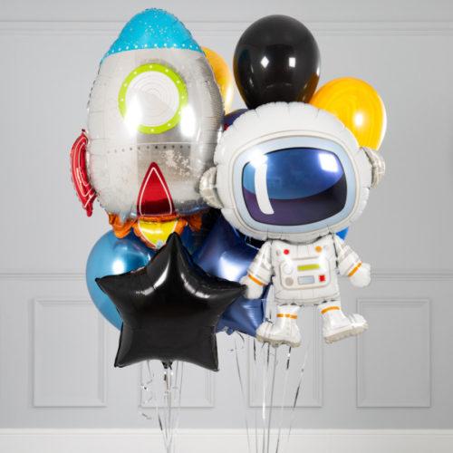 Связка шаров Космонавт и Ракета