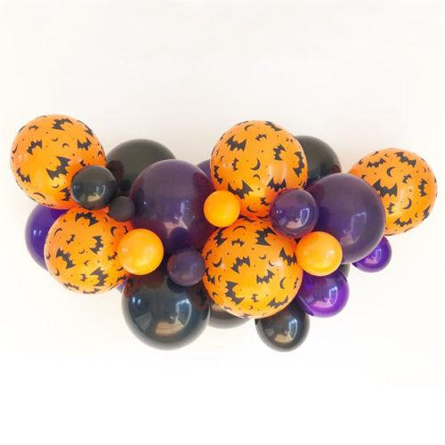 Гирлянда плетеная из воздушных шаров на Хеллоуин 1 метр