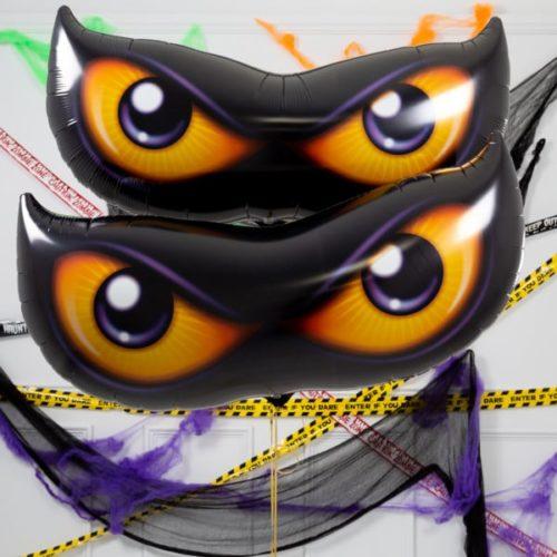 Комплект для украшения Глаза жуткие с гелием 2 штуки