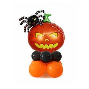 Стойка из шаров Мини Шар Хеллоуин Тыква и паук