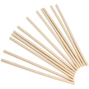 Трубочки для коктейлей Крафт 12 штук