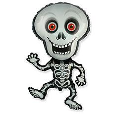 Шар 101 см Фигура Скелет