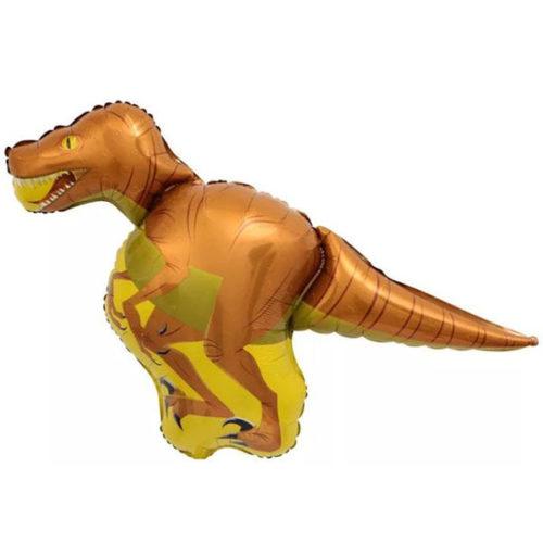 Шар 36 см Мини-фигура Динозавр Велоцираптор