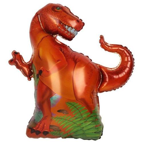 Шар 36 см Мини-фигура Динозавр Тираннозавр