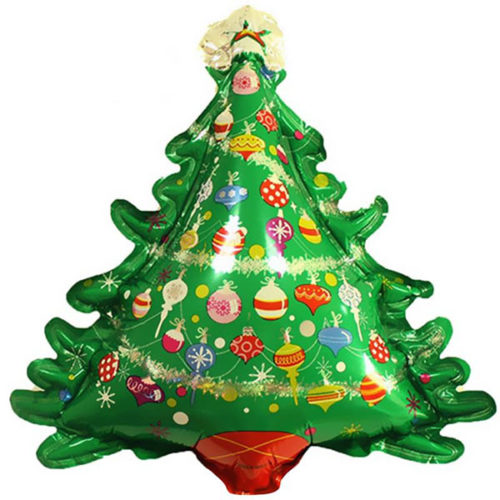 Шар 36 см Мини-фигура Новогодняя елка
