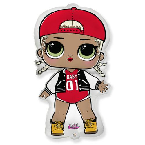 Шар 41 см Мини-фигура Кукла ЛОЛ LOL Модная подружка