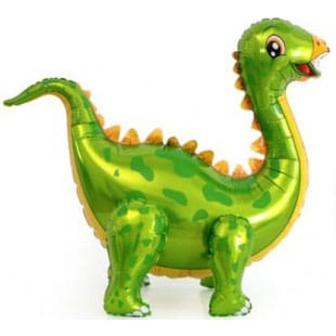 Шар 99 см Ходячая Фигура Динозавр Стегозавр Зеленый