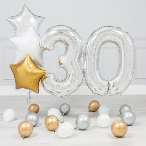 Комплект Серебро и Золото на 30 лет