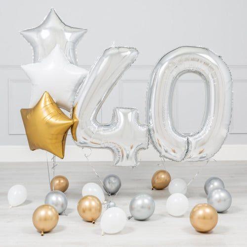 Комплект Серебро и Золото на 40 лет