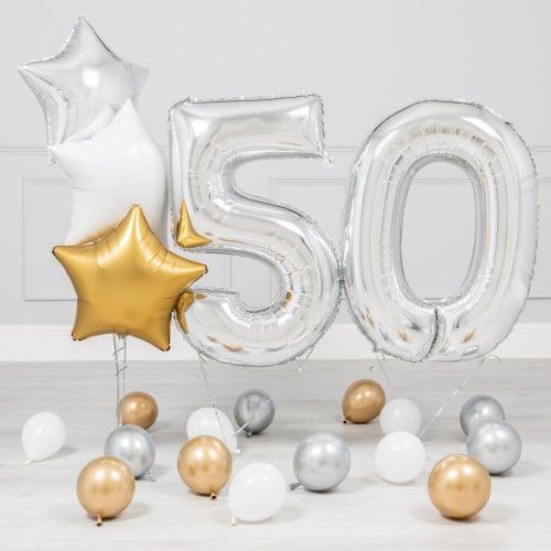 Комплект Серебро и Золото на 50 лет