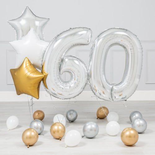 Комплект Серебро и Золото на 60 лет
