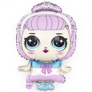 Шар 33 см Мини-фигура Модная кукла маленькая принцесса