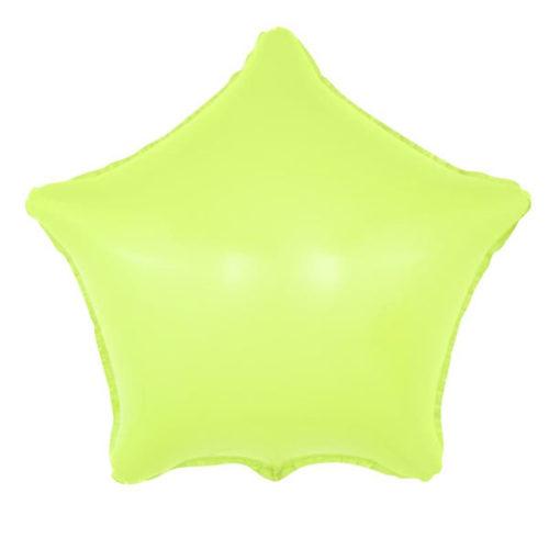 Шар 46 см Звезда Макарунс Лайм