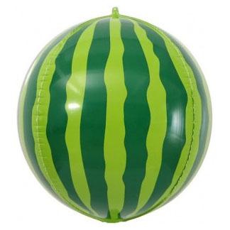 Шар 61 см Сфера 3D Арбуз