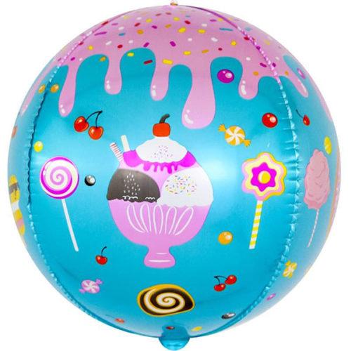Шар 61 см Сфера 3D Десерты и сладости