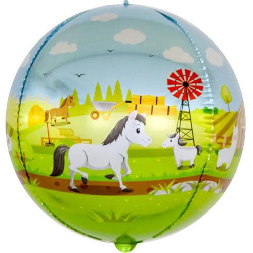 Шар 61 см Сфера 3D Любимая ферма