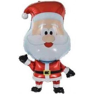 Шар 81 см Фигура Веселый Санта