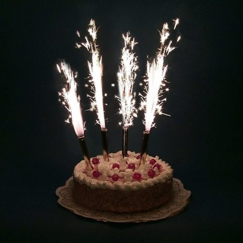 Набор тортовых свечей Фонтаны 17,5 см